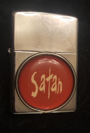 Rare Zippo Satan lighter for Sale in San Diego, CA