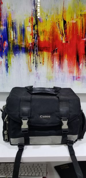 Canon Camara bag for Sale in Downey, CA
