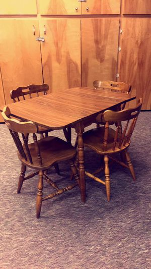"""Cute """"Antique"""" Table with 4 Chairs for Sale in Seattle, WA"""