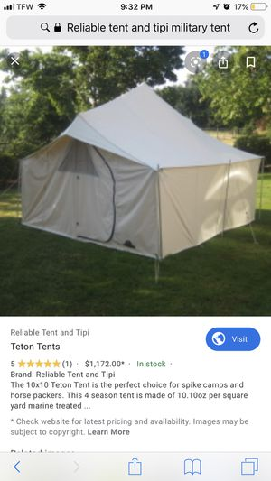 Relatable tent for Sale in Medford, OR