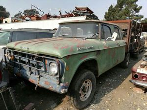 1968 Dodge Power Wagon Flatbed for Sale in Rodeo, CA