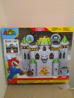 Super Mario Bowser's Castle Playset Brand New for Sale in Fresno,  CA