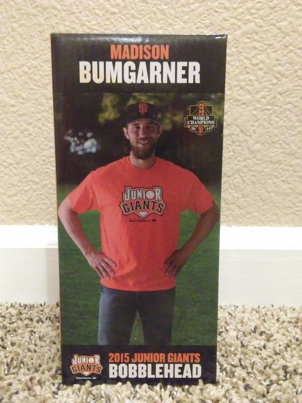 Madison Bumgarner 2015 Junior Giants Bobblehead