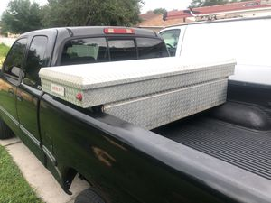 WeatherGuard 117 Truck Tool Box with Key 🔑 fits Full Size Pickup Trucks for Sale in Kissimmee, FL