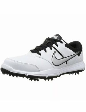 NIKE DURASPORT 4 GOLF SHOES 844551-100 WHITE SILVER BLACK MENS SIZE 9.5 WIDE New without box for Sale in Buckhannon, WV