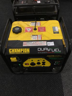 Champion Gas or Propane Generator for Sale in Kansas City, MO