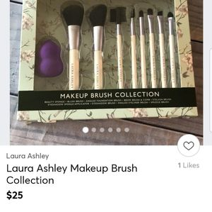 LAURA ASHLEY COMPLETE MAKEUP BRUSH COLLECTION, NEW IN BOX for Sale in Euless, TX