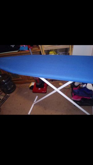 Ironing board-$6 need gone have a iron for 5 also for Sale in Chesapeake, VA