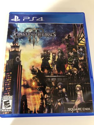 PS4 Kingdom Hearts III for Sale in Porter Ranch, CA