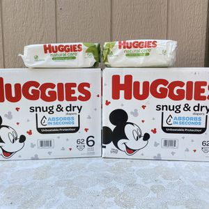Huggies Size 6/Wipes📍NO DELIVERY📍LOCATION IS LISTED📍 for Sale in Norwalk, CA