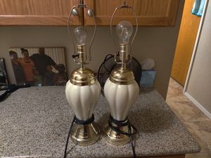Two lamps for Sale in Clovis, CA