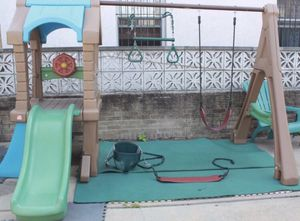 Playhouse slide and swings set (Queens NY) for Sale in Queens, NY