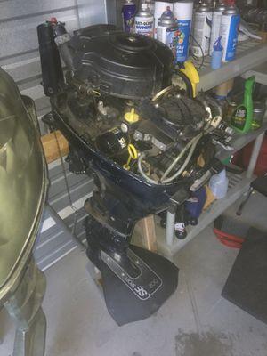 Evinrude 9.9 4 stroke outboard motor for Sale in West Haven, UT