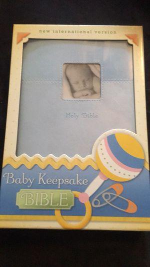 Baby bible keepsake NIV for Sale in Queen Creek, AZ