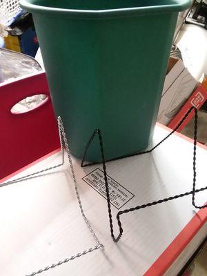 Wastebasket and 2 frame holders for Sale in Glen Burnie, MD
