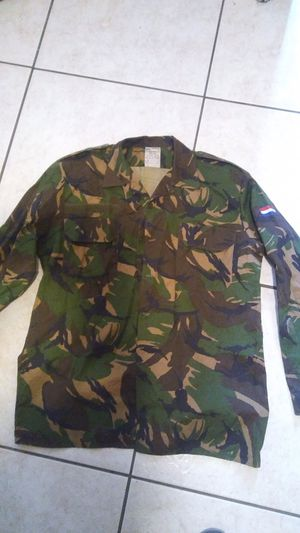 Dutch military camo shirt for Sale in Las Vegas, NV