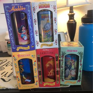 Walt Disney Collector Cups Set Of 5 for Sale in Suisun City, CA