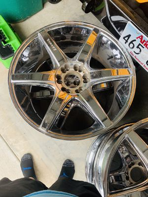 Dub 22in Chrome Rims for Sale in Rogers, AR