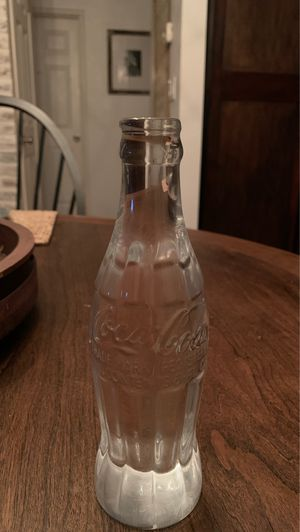 Coca Cola collectible glass bottle for Sale in Turlock, CA