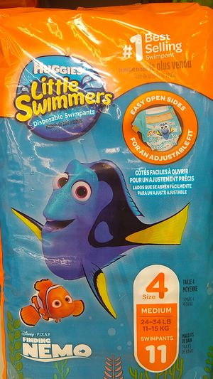 Huggies little swimmers - new in package for Sale in Everett, WA