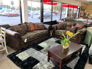Sofa & loveseat on sale @ elegant Furniture 🛋🎈 for Sale in Fresno, CA