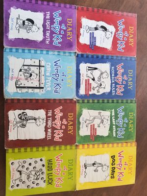 Diary of a wimpy kid books for Sale in Visalia, CA