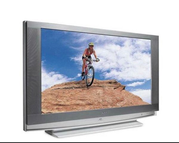 """Sony 55"""" HD (720p) TV - Sony KDF-E55A20 with stand (LCD rear projection)"""