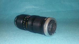 Canon FD Mount Lens... Great for Blackmagic Cameras for Sale in Corona, CA