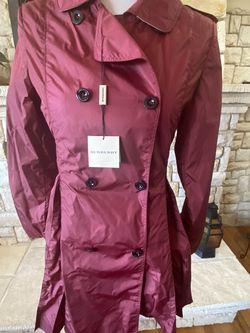 Burberry Burgundy Rain Jacket for Sale in Seaside,  CA
