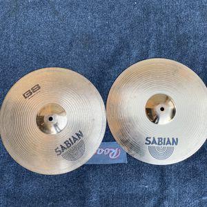 "14"" Sabian B8 Hi Hat Cymbals (newer) for Sale in Las Vegas, NV"