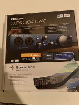 Audio interface with studio software for Sale in Garland, TX