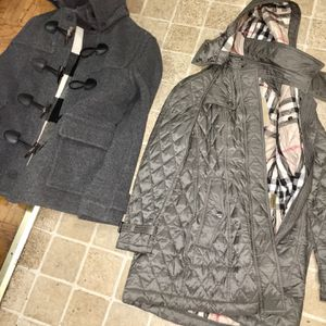 More Burberry Coats For Sell Small Medium Xs for Sale in Camp Springs, MD