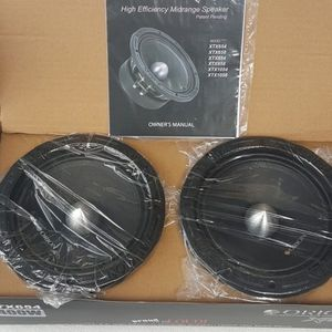 "Orion XTX-654 6.5"" 350W RMS Pro Audio Midrange Speakers 4 Ohm 1400W Max (Pair) for Sale in Costa Mesa, CA"