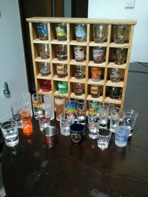 Shot glass collection for Sale in Olympia, WA
