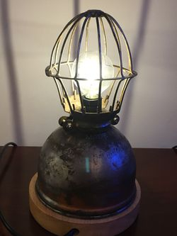 Vintage industrial steampunk lamp for Sale in Vienna,  VA