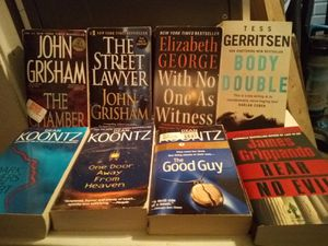 Paperback fiction & nonfiction books, prices vary, $9 for all for Sale in San Angelo, TX
