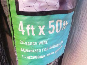 Chicken Wire 4'x50' for Sale in Mesa, AZ