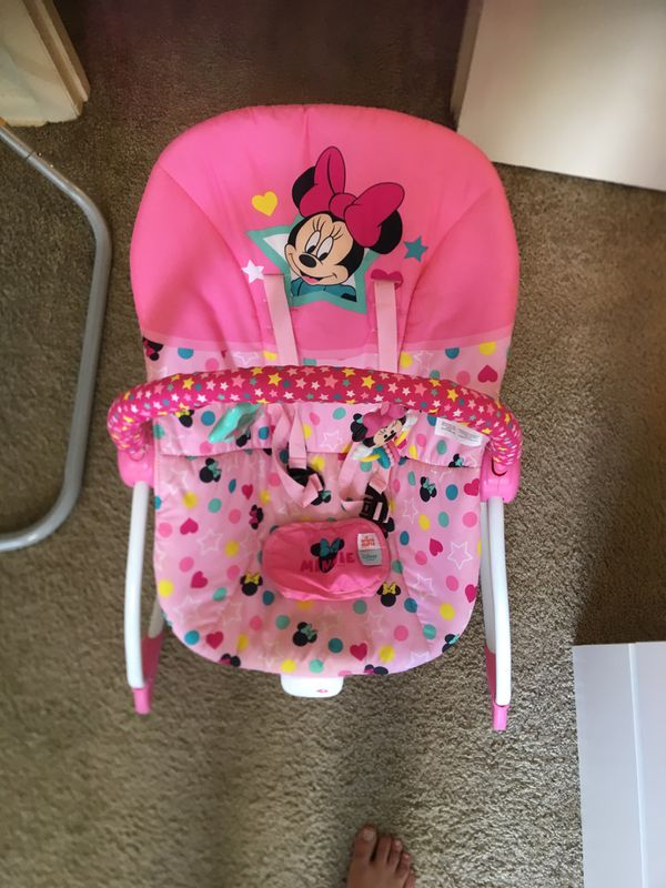 MINI MOUSE BABY SWING