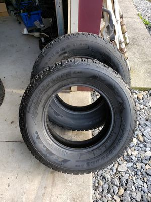 Set of 2 Firestone Winterforce winter tires 70% tread P235/70R16 P235-70-R16 for Sale in West York, PA