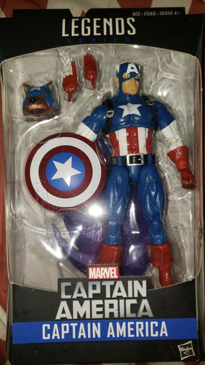 Marvel Legends Avengers Captain America Rocket for Sale in Chicago, IL