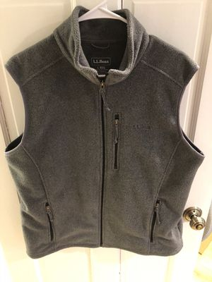 LL Bean vest size men's large for Sale in Washington, DC