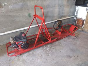Go-kart frame with 6.5 horsepower Tekumseh Engine for Sale in Hamburg, PA