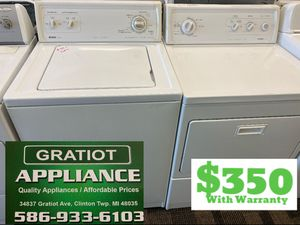 Kenmore washer and dryer set for Sale in Clinton Township, MI