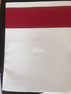 White House President Donald Trump Christmas Card 2017 100 or best offer for Sale in Silver Spring, MD