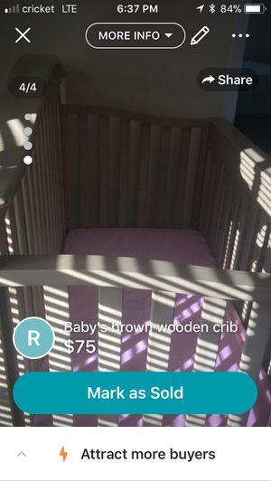 Delta Bella Baby Crib for Sale in Weslaco, TX