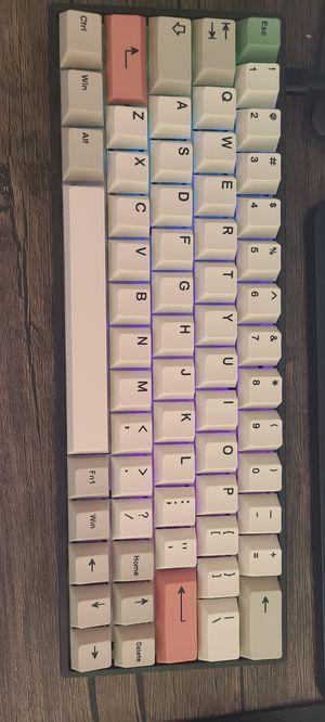 Gk64x 60% RGB Custom Keyboard for Sale in Mission Viejo, CA