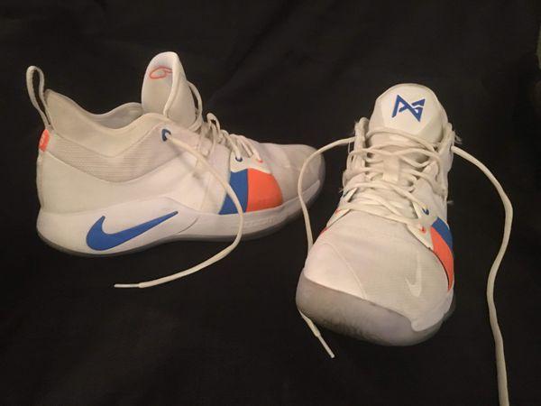 Nike PAUL GEORGE PG2 size 13m, like new