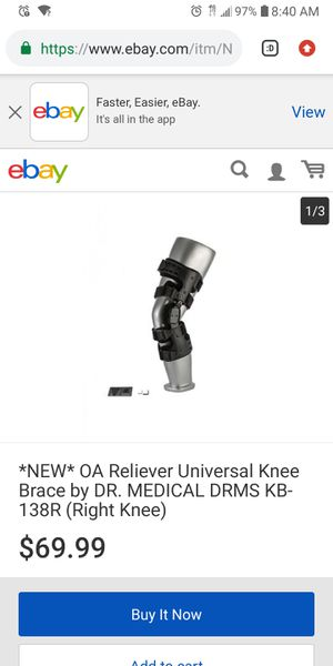 Right and left knee brace for Sale in Morrisville, PA