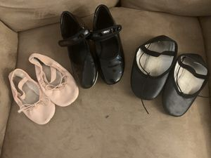 Ballet and tap shoes for Sale in Chandler, AZ