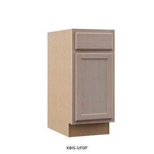 Hampton Bay Hampton Assembled 15x34.5x24 in. Base Kitchen Cabinet in Unfinished Beech for Sale in Dallas, TX